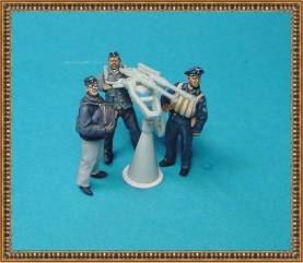 WWII German Navy - Crew for 2cm Flak Gun