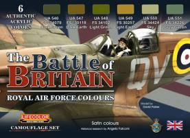 The Battle of Britain Royal Air Force Colors Acrylic Paint Set