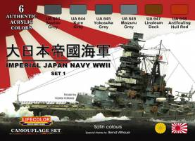 WWII Imperial Japan Navy Acrylic Paint Set #1