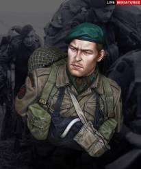 WW2 British Commando on D-Day, June 1944