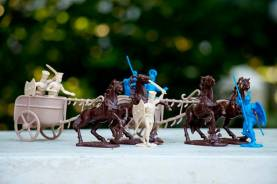 The War at Troy - Greeks Vs Trojans Set 2 w/Chariot