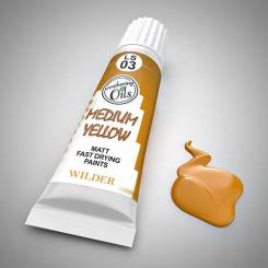 Weathering Oil Medium Yellow 20ml