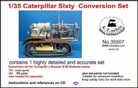 Caterpillar Sixty Conversion Set for Trumpeter 5538 (Resin)