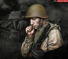 On the edge of No Mans Land - WW2 Young Red Army Infantryman July 1943, Battle of Kursk