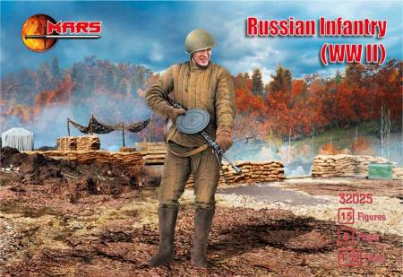 WWII Russian Infantry