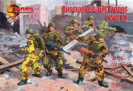 WWII Russian Assault Troops