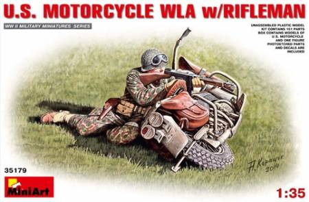 US Motorcycle WLA w/Rifleman