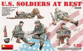 US Soldiers at Rest (5)