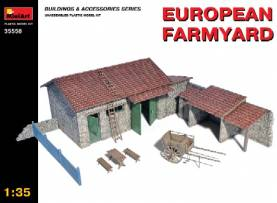 European Farmyard Building, Storage Shed & Accessories