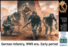 German Infantry on the Move Under Fire WWII Era Early (5)