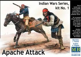 Apache Attack Indians w/Rifles (2)