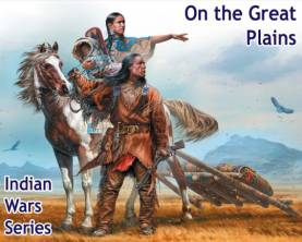 On The Great Plaines Indian Family w/Horse & Accessories