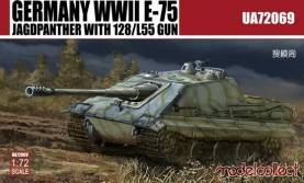WWII German E75 Jagdpanther w/128/L55 Gun (Model Kit)