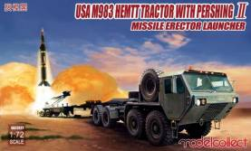 US Army M983 Hemitt Tractor w/Pershing II Missile Erector Launcher