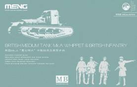 British Tank Mk.A Whippet + Infantry Special Edition