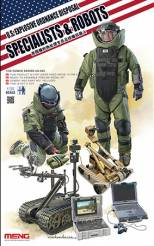 US Explosive Ordnance Disposal Specialists & Robots