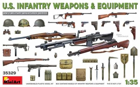 US Infantry Weapons and Equipment