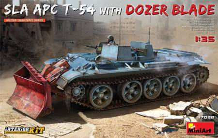 SLA APC T-54 with Dozer Blade [Interior Kit]