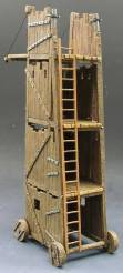 King & Country MK007 Medieval Siege Tower NIB 1 Available OOP