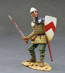 King & Country Man At Arms With Sword And Shield #MK022