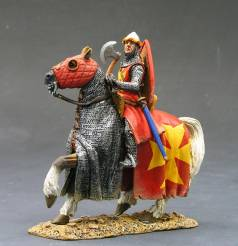 King & Country MK024 Mounted Knight with Axe NIB 1 Available OOP