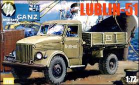 Lublin 51 Polish Stake Body Truck (Early Version)