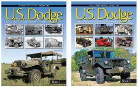 The Military Machine Vol.2: US Dodge Trucks 1940-75 Two-Book Set (Hardcovers)