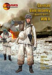 WWII German Elite Infantry Winter Dress
