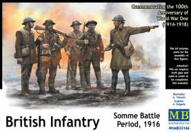 WWI British Infantry at the Somme 1916