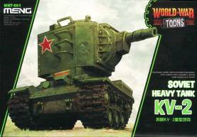 KV-2 Soviet Heavy Tank  - World War Toons Meng Model Kids Caricature Series