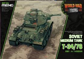 Soviet Medium Tank T-34/76  - World War Toons Meng Model Kids Caricature Series
