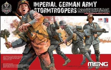WWI Imperial German Stormtroopers