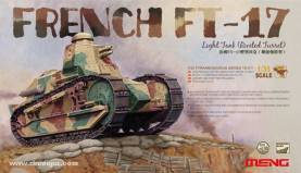 WWI French FT17 Light Tank Riveted Turret