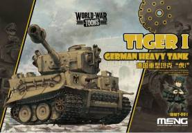 German Tiger I Heavy Tank - World War Toon Meng Model Kids Caricature Series