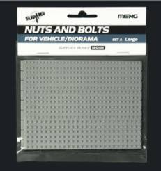 Large Nuts & Hex Bolts Set A Plastic