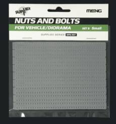 Small Nuts & Hex Bolts w/Washers Set B Plastic