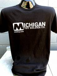 Michigan Toy Soldier Co T-Shirt-2018-Logo-Black-T-X-Large