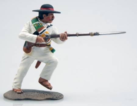 The Mexican Adventure 1861'67 Mexican Militia Charging with Rifle & Bayonet