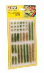 Grass Strips -- Light and Dark Green, 36 Pieces