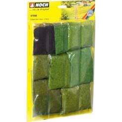 Grass Fiber Assortment - Short 1/16 .15 & 3/32 .25cm Long