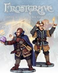 Frostgrave: Soothsayer & Apprentice