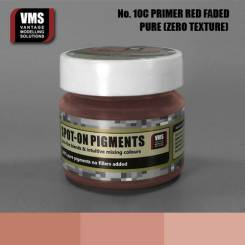 Spot-On Pigments- Primer Red RAL 3009 Faded