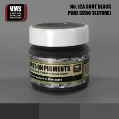 Spot-On Pigment - Soot Black Pure Pigment