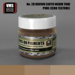 Spot-On Pigment- European Brown Earth Warm Tone Pure Pigment