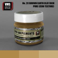 Spot-On Pigment- European Brown Earth Clay Rich Tone Pure Pigment