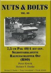 Nuts & Bolts Vol.9 7.5cm Pak 40/4 Auf Gepanzerter (rePrinted)