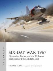 Osprey Air Campaign: Six-Day War 1967