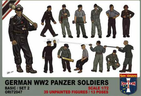 German WWII Panzer Soldiers Set #2