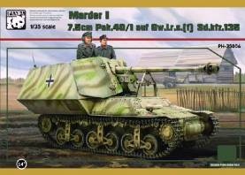Marder I 7.5cm Pak 40/1 on GW LrS(f) SdKfz 135 Tank Destroyer