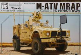 US Army M-ATV MRAP W/CROW II RWS
